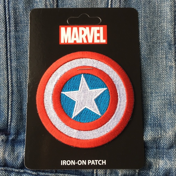 8407c347aa9 Iron-on Patch Marvel Captain America